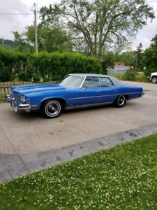REDUCED 1973 Pontiac Grandville $5,800.00 swap/trade