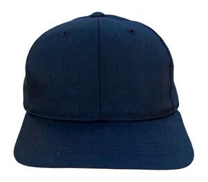 Youth-Plain-Snapback-Hat-Black