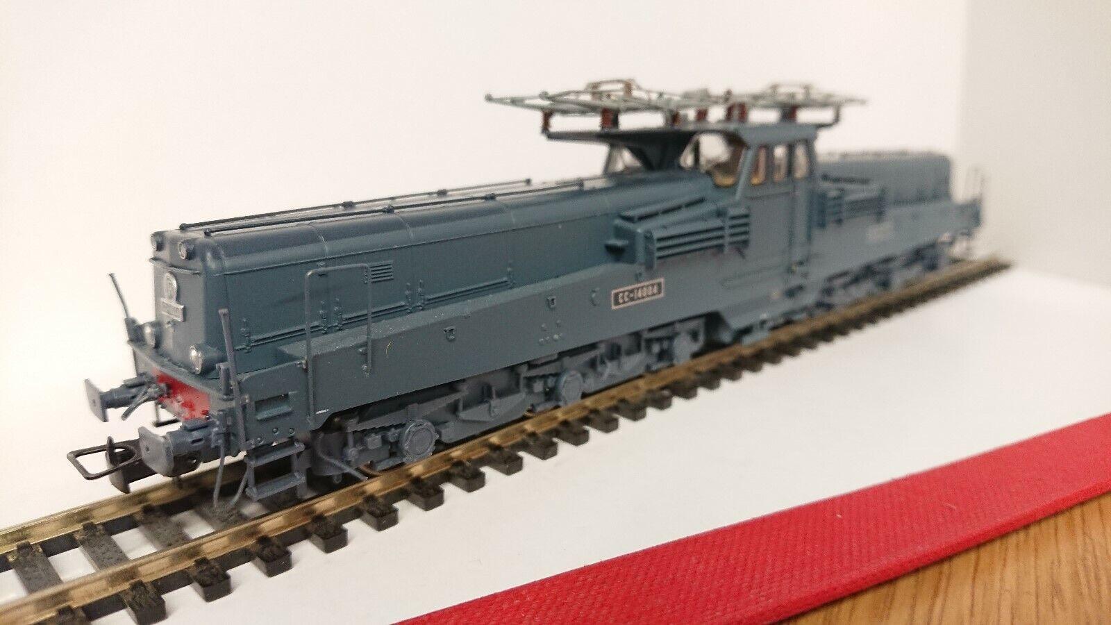 Jouef HJ2248 Electric Locomotive CC 14004 Blau Livery SNCF Period III DC Sound