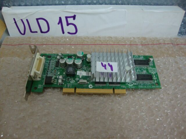 HP DY599A Nvidia Quadro4 280 NVS 64MB PCI Graphics Card Low Profile