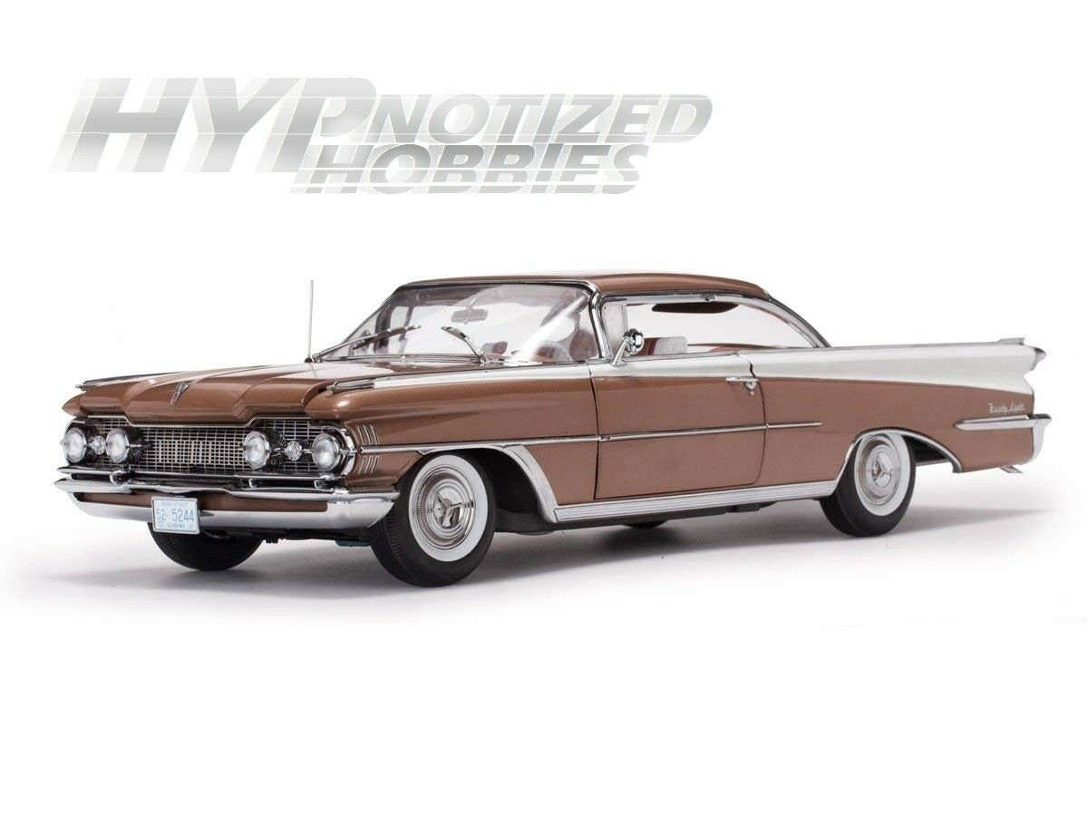 SUNSTAR 1 18 1959 OLDSMOBILE  98  HARD TOP DIE-CAST BRONZE 5244