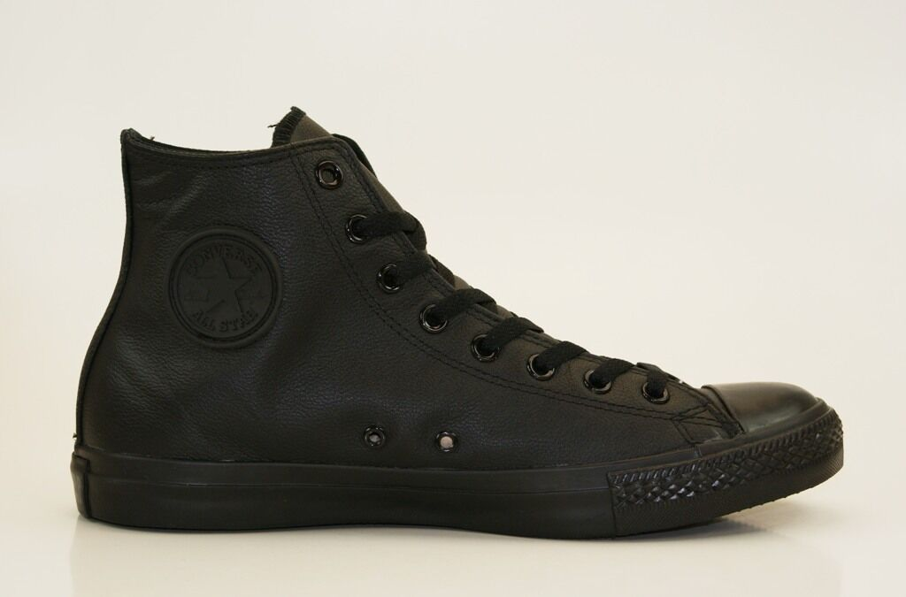 Converse Chuck Taylor All Star Leather Hi Sneakers Trainers Men's Women's Shoes