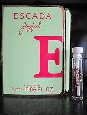 ESCADA ~ Joyfull ~ ED Parfum Probe NEU OVP