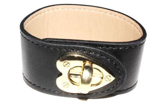 Two Rhona Sutton Leather Cuff Bracelets-1 Black & 1 White (RRP £19.99 each) £10