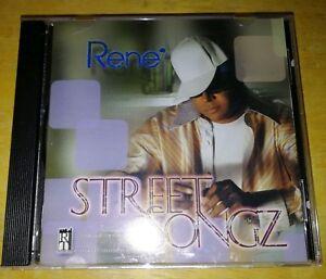 RENE. -   STREET SONGZ.  -  RARE INDIE R&B  CD