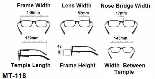 Gf120 Retro Zeitlos Rahmen Einzigartig Mode Durchsichtige Linse Brille Karte