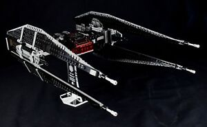 Star-Wars-Lego-75179-Kylo-Rens-TIE-Silencer-custom-display-stand-only