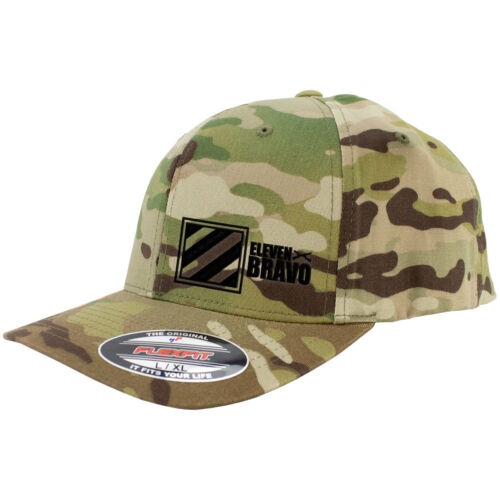3rd Infantry Eleven Bravo Multicam Flexfit Hat