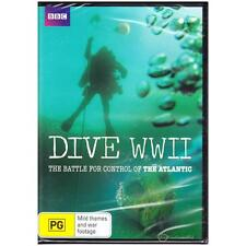 DVD DIVE WWII: BATTLE FOR CONTROL OF THE ATLANTIC War WW2 History PG R4 [BNS]
