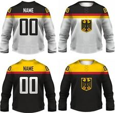 Team Germany Replica Ice Hockey Jersey/Adult+Youth Sizes/Custom Name