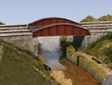 Wills SS47 - Girder Bridge Single Track 203 x 63mm - 00 Gauge - New Plastic Kit