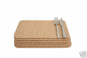 T-amp-G-Sets-Cork-Square-Rectangular-Round-Table-Place-Mats-Coasters