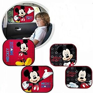 disney auto sonnenschutz 2tlg mickey mouse kinder baby. Black Bedroom Furniture Sets. Home Design Ideas