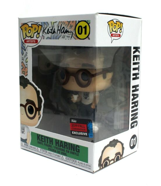 Funko Pop Artists Keith Haring 01 2019 Fall Convention Exclusive NYCC