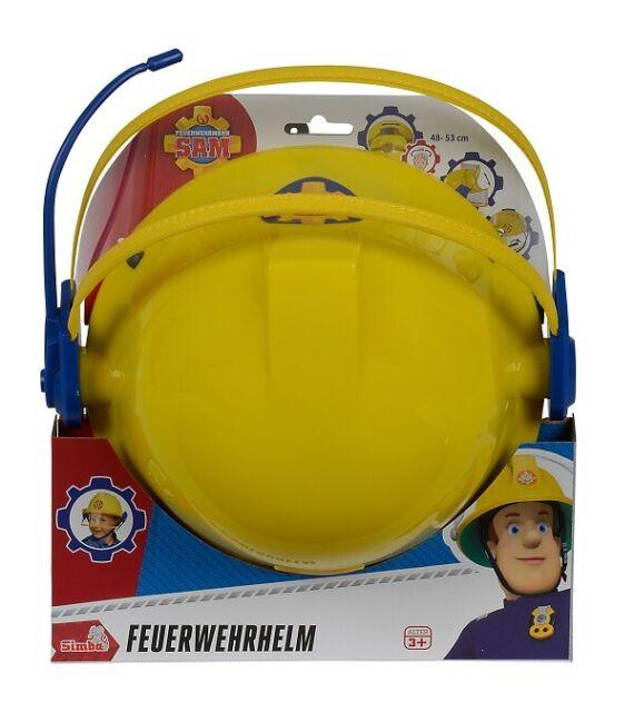 Simba 109258698 - Sam il Pompiere - Casco Antincendio (Ca 23cm) - Nuovo