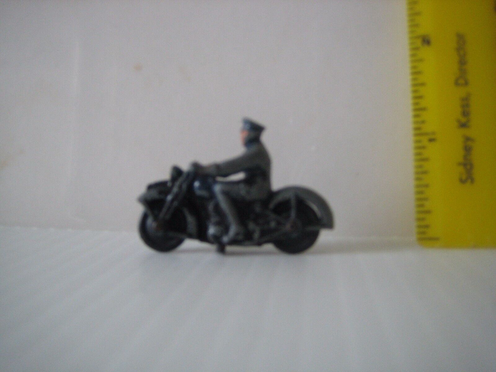 Dinky Toys 42b Police Motorcycle