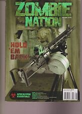 ZOMBIE NATION MAGAZINE #2 2013, Shooting Times Special, Target Included.