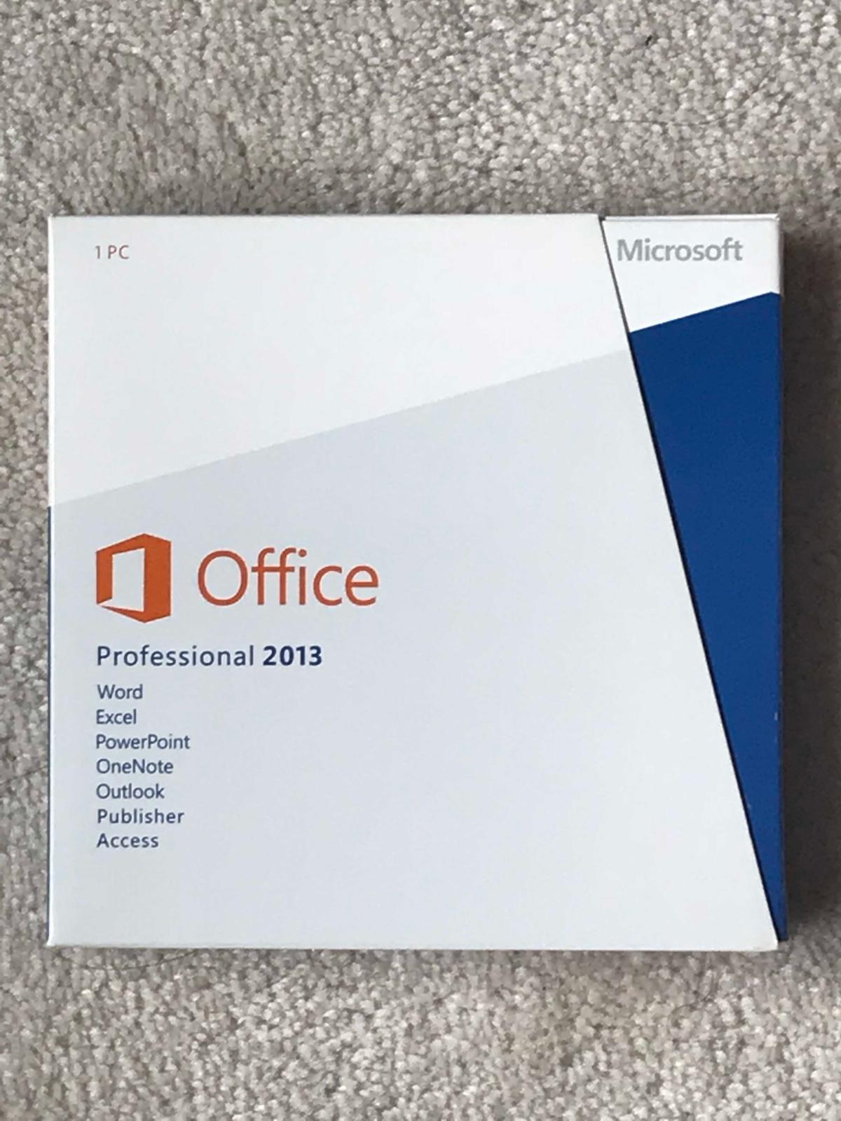 Microsoft Office Professional 2013 Full Version 1 Pc Licence 269 Windows 10 Profesional 2016 Pro Plus Original Lisensi Stock Photo