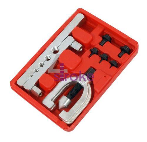 Imperial Pipe Brake Double Flaring Tool Set Kit Aluminium Copper Tubing Brakes