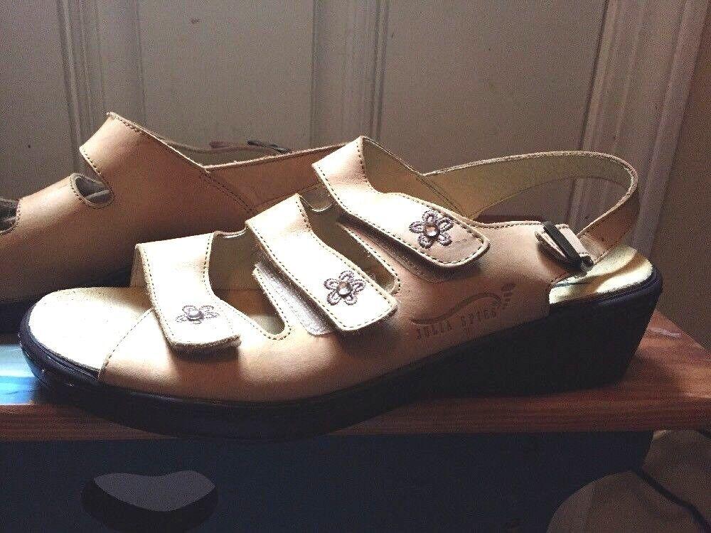 Vita Comfort Julia Spies Three Three Three Strap Sandals Beige Dimensione 41 D (10) Norway Stylish 2b5b46