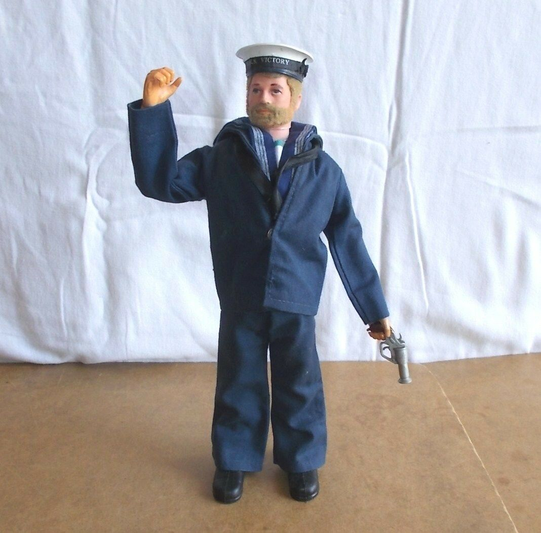 Vintage PALIgiocattolo azione uomo  BRITISH SAILOR second issue HMS VICTORY  70's