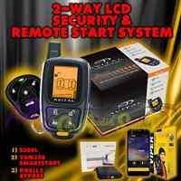 Avital 5305l Replace 5303 2 Way Remote Start Car Alarm Security+ Vsm350 + Dball2