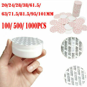 100 bag made in USA 48 mm Press /& Seal Safety Liners JAR Tamper foam seal