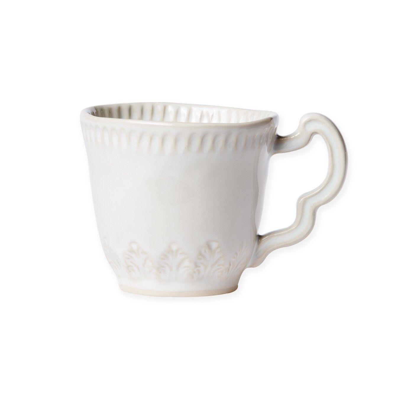 Vietri Incanto Stone Linen Leaf Mug Mug Mug - Set of 4 909e6f