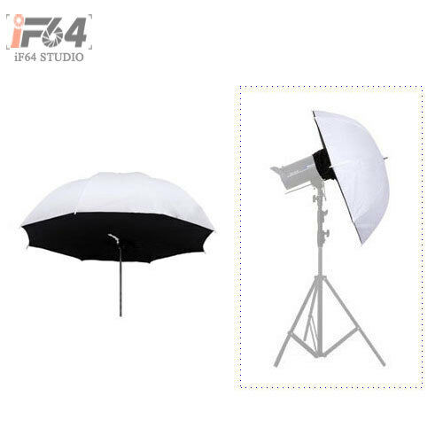 "1Pcs Photo Studio Lighting Umbrella Softbox 84cm / 33"" Reflective"
