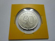 "MALAYSIA  50sen coin Parliament series 1982 ""BU"""