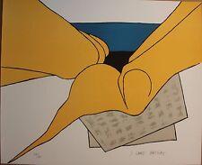 Joan GARDY-ARTIGAS ( MIRO ) Lithographie signée numérotée journal sur la plage