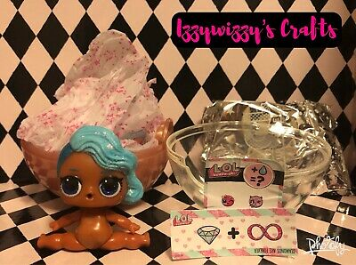 LOL Surprise Splash Queen Ultra Rare Holiday Bling Series Doll no ball opened