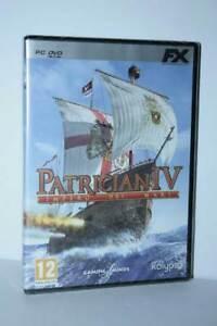 PATRICIAN-IV-IMPERO-DEI-MARI-GIOCO-NUOVO-PC-DVD-VERSIONE-ITALIANA-GD1-55136