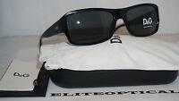 Authentic Dolce & Gabbana D&g Dd3060 501/87 Black/grey