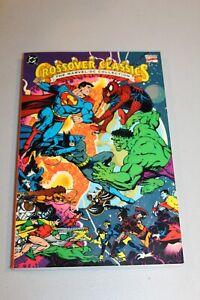 RARE-UNREAD-Marvel-DC-Crossover-Classics-NM-MINT-TPB-1991-1st-Print-Spider-man