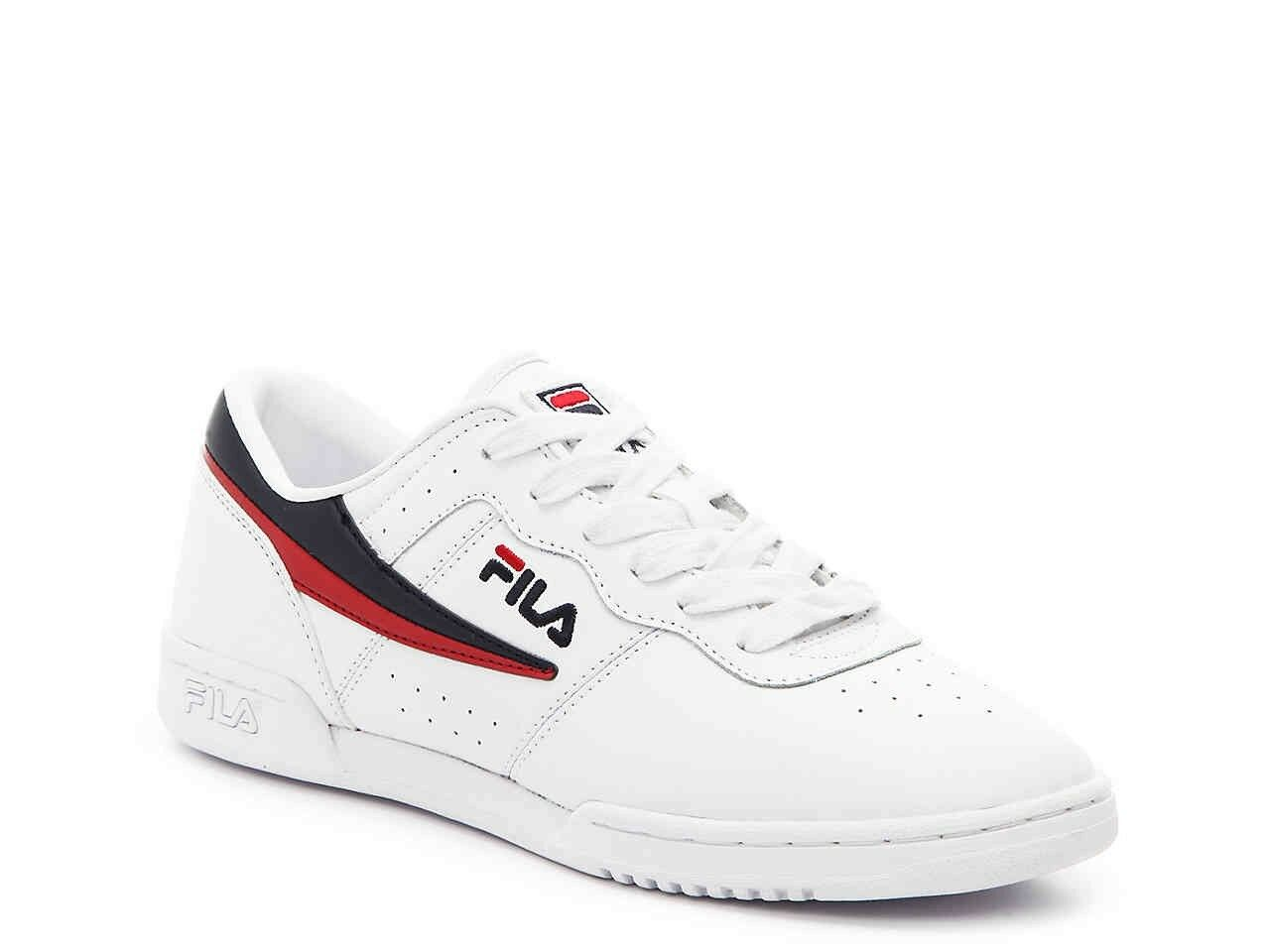 New FILA Womens Original Fitness Sneaker WHITE RED NAVY US W 6/3.5/36.5 Cheap and beautiful fashion