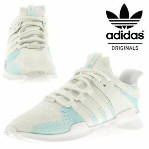 Detalles de Adidas Originales EQT ADV Equipo Soporte Para hombres Zapatos para Correr Entrenadores Blanco ver título original