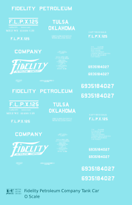 K4-O-Decals-Fidelity-Petroleum-Tank-Car-White