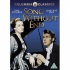 Song Without End DVD Region 2 1960
