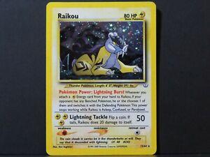 Raikou-13-64-Neo-Revelation-Pokemon-Card-Lightly-Played