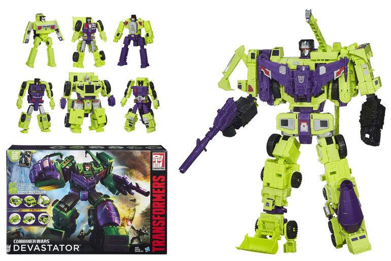 AUTHENTIC2015 Hasbro transformers Generationer Combiner Wars Devastator Brand Ny