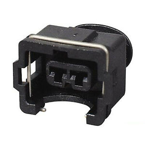 2 WAY PIN PACKARD TIMER FEMALE CONNECTOR PLUG 2 GROOVE