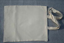 5 Plain Eco Natural Cotton Calico Shopping Bag/Totes with long handles 42*38
