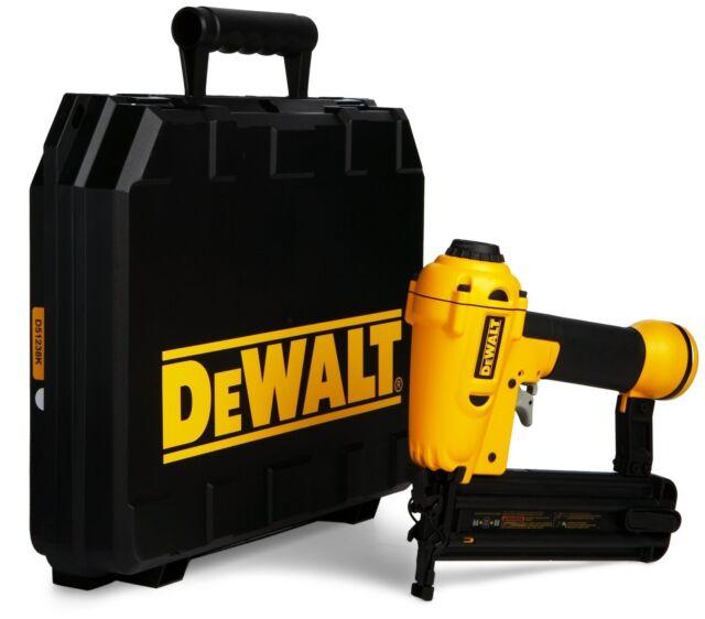 DEWALT d51238 d51238k 2in 18 ga brad nailer nail gun kit with case & 1yr waranty