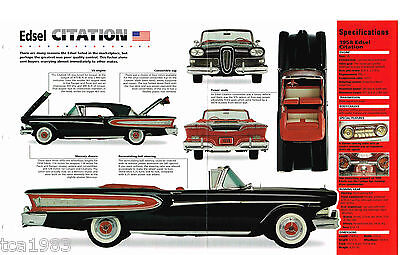 1958 Ford Edsel Citation Imp Brochure