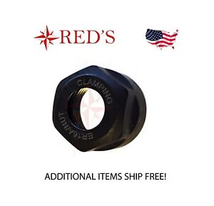 NEW ER16 A Type Collet Clamping Nut Chuck Holder ER16A for CNC Milling Lathe
