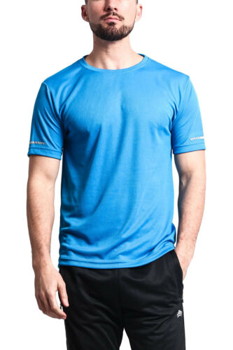 G-Style USA Men/'s Solid Color Sport Gym Fitness Workout Training Shirt PW950C