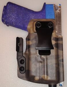 W// Claw.,,, Holster for Polymer 80 PF940C IWB - Olight PL-Mini 2 Compatible!