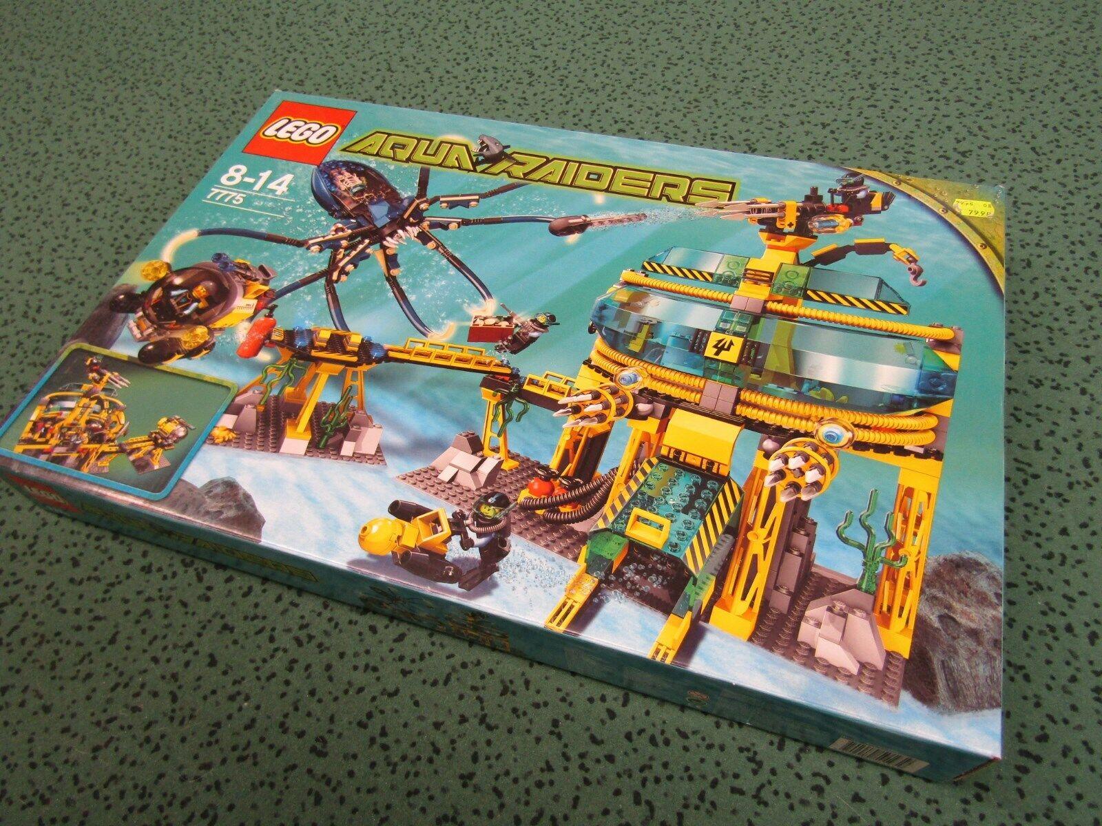 LEGO SYSTEM Aqua Aqua Aqua Raiders 7775 - Aquabase Invasion NEU u. OVP MISB bfdcc1
