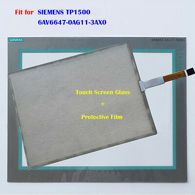 New Touch Screen Glass Protective Film for SIEMENS TP1500 6AV6647-0AG11-3AX0